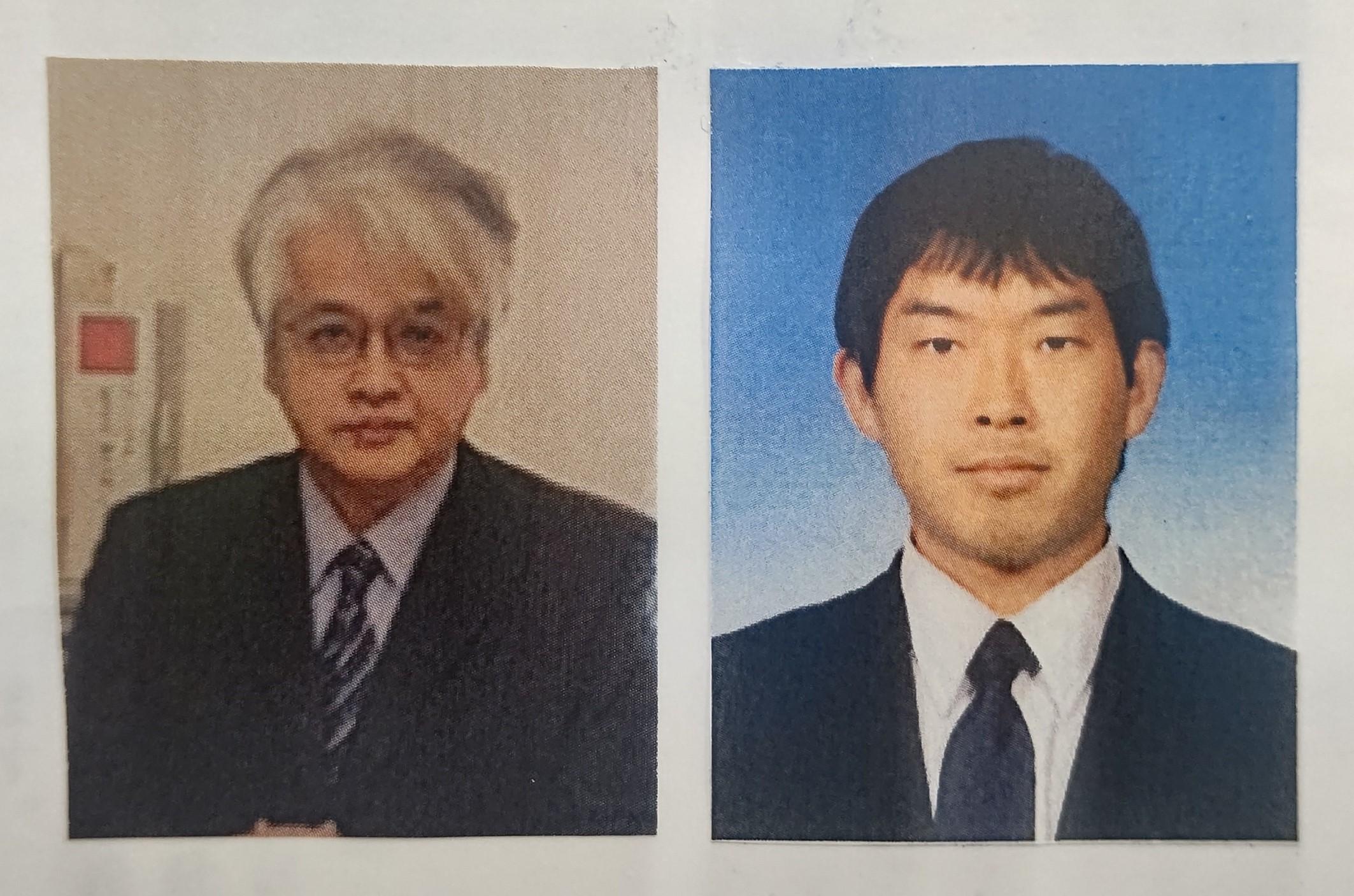 南小泉小 永井氏(左)、枡形中 清水氏
